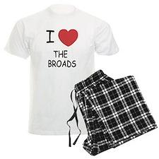 I heart the broads pajamas