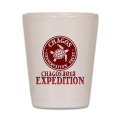 Chagos Expedition Shot Glass