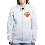 Class of 2025 (Orange) Women's Zip Hoodie