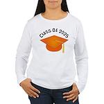 Class of 2025 (Orange) Women's Long Sleeve T-Shirt