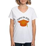 Class of 2025 (Orange) Women's V-Neck T-Shirt