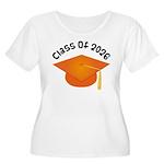 Class of 2026 (Orange) Women's Plus Size Scoop Nec