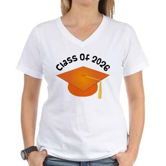 Class of 2026 (Orange) Women's V-Neck T-Shirt