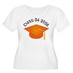 Class of 2028 (Orange) Women's Plus Size Scoop Nec