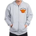 Class of 2029 (Orange) Zip Hoodie