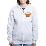 Class of 2029 (Orange) Women's Zip Hoodie