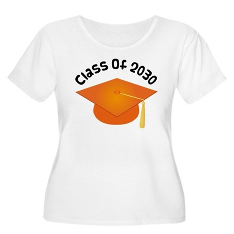 Class of 2030 (Orange) Women's Plus Size Scoop Nec