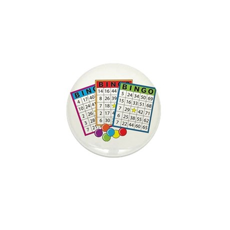 Bingo Cards Mini Button