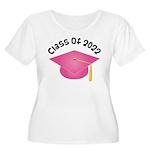 Class of 2022 (Pink) Women's Plus Size Scoop Neck