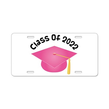Class of 2022 (Pink) Aluminum License Plate