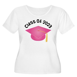 Class of 2023 (Pink) Women's Plus Size Scoop Neck