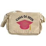 Class of 2025 (Pink) Messenger Bag