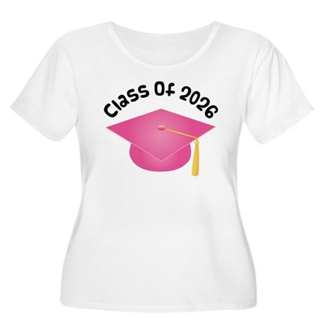 Class of 2026 (Pink) Women's Plus Size Scoop Neck