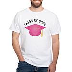 Class of 2026 (Pink) White T-Shirt