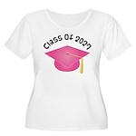 Class of 2027 (Pink) Women's Plus Size Scoop Neck