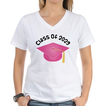 Class of 2029 (Pink) Women's V-Neck T-Shirt