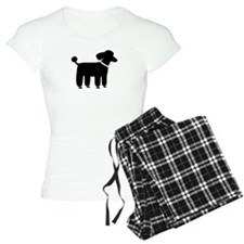 Black Poodle Pajamas