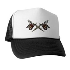 Twin Tattoo Needles Trucker Hat