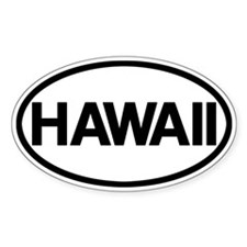 Hawaii Decal