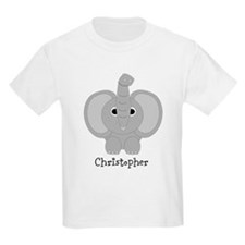Personalized Elephant Design T-Shirt