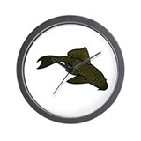 Pleco Wall Clock