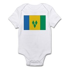 SVG Flag Infant Bodysuit