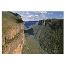 Australia, Blue Mountains National Park, Panoramic