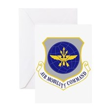 Air Mobility Command Greeting Card