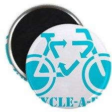 "Funny Bicycling 2.25"" Magnet (100 pack)"