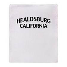 Healdsburg California Throw Blanket