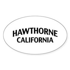 Hawthorne California Decal