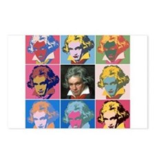 Unique Beethoven Postcards (Package of 8)