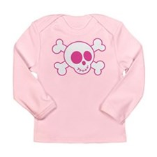 Cute Little Skull Long Sleeve Infant T-Shirt