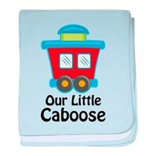 Our Little Caboose baby blanket