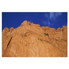Low angle view of a cliff, Garden of the Gods, Col