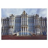 Facade of a palace, Catherine Palace, Pushkin, St.