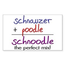 Schnoodle PERFECT MIX Decal