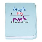 Puggle PERFECT MIX baby blanket