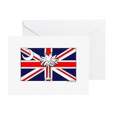 Unique Brit Greeting Cards (Pk of 10)