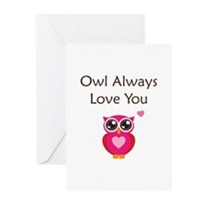 Owl Always Love You Greeting Cards (Pk of 10)