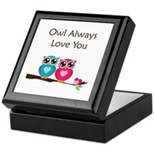 Owl Always Love You Keepsake Box