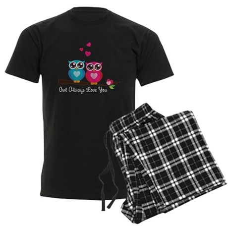 Owl Always Love You Men's Dark Pajamas