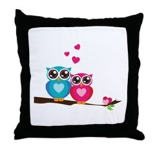 Owl Always Love You Throw Pillow