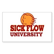 Sick Flow University Decal