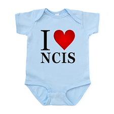 I Love NCIS Infant Bodysuit