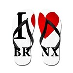 I Love the Bronx Flip Flops