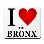 I Love the Bronx Mousepad