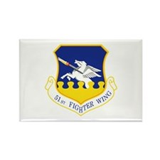 51st Fighter Wing Rectangle Magnet