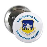 "51st Fighter Wing with Text 2.25"" Button (100 pack"