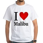I Love Malibu White T-Shirt